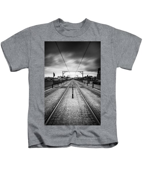On A Gloomy Day Kids T-Shirt