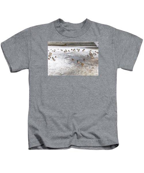 On Ice  Kids T-Shirt