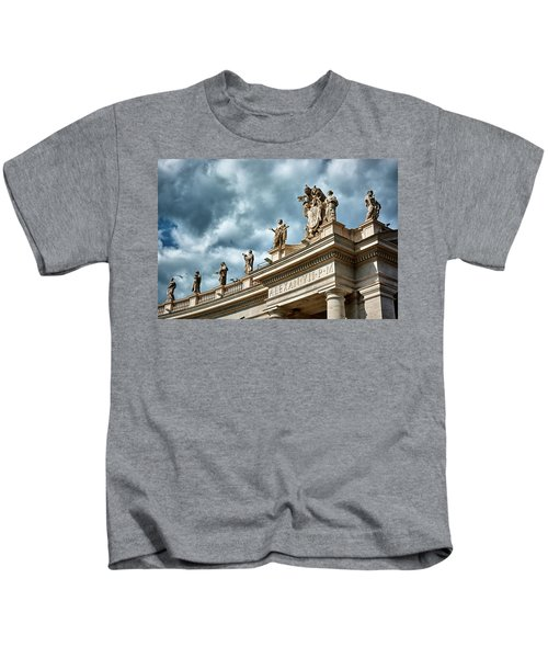 On Top Of The Tuscan Colonnades Kids T-Shirt