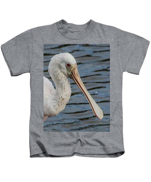 One Drop Closeup Kids T-Shirt