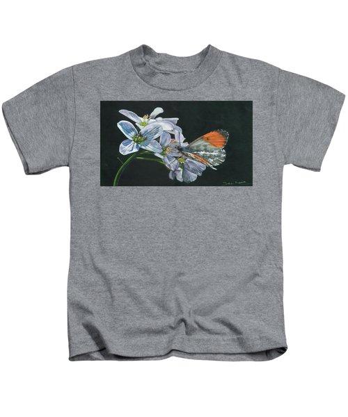 Orange Tip  Kids T-Shirt