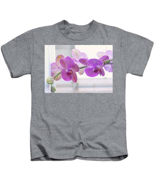 Orchid Spray Kids T-Shirt