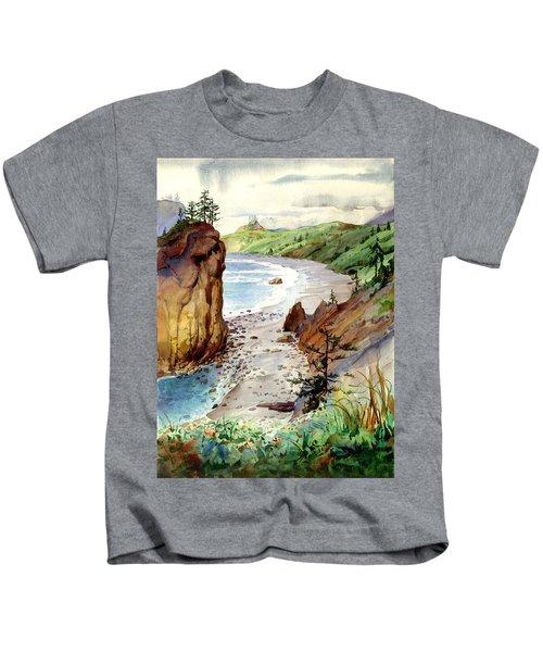 Oregon Coast #3 Kids T-Shirt