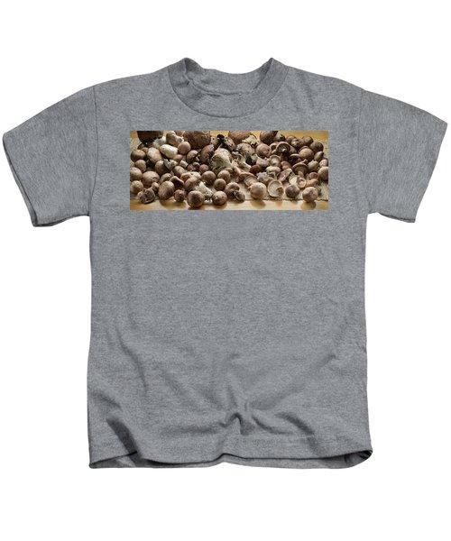 Organic Fresh Mushrooms Kids T-Shirt