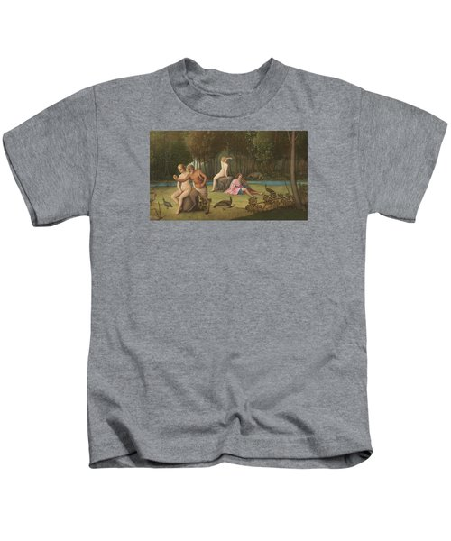 Orpheus Kids T-Shirt by Venetian School
