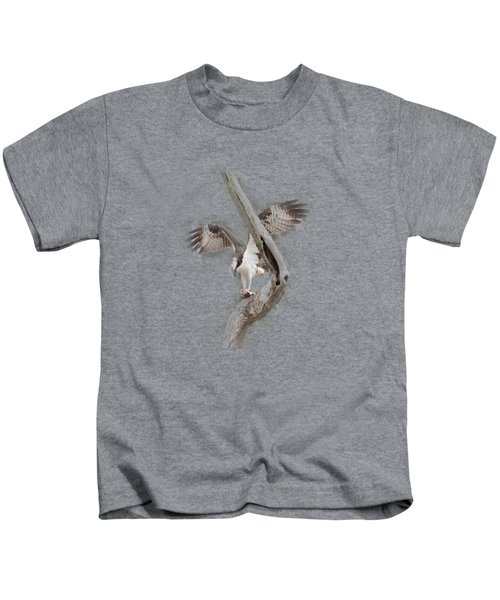Osprey Tee-shirt Kids T-Shirt by Donna Brown