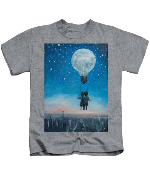 Our Love Will Light The Night Kids T-Shirt