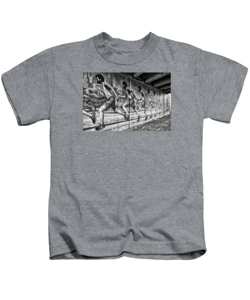 Out For A Run Kids T-Shirt