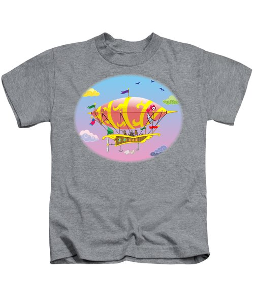 Dreamship II Kids T-Shirt