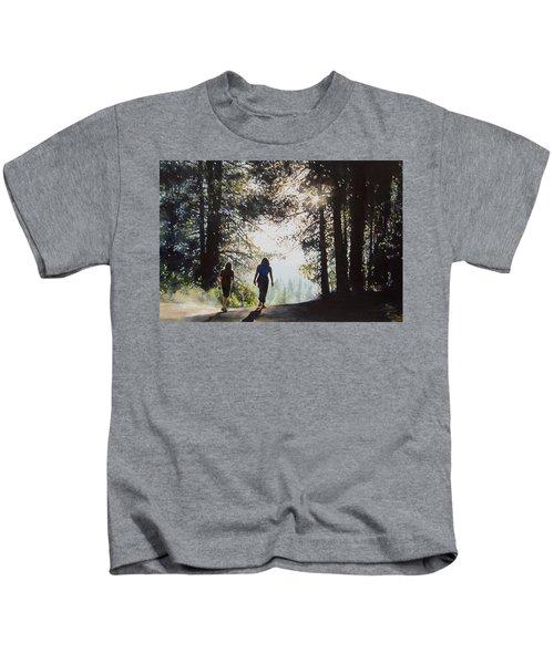 Over The Hills Kids T-Shirt