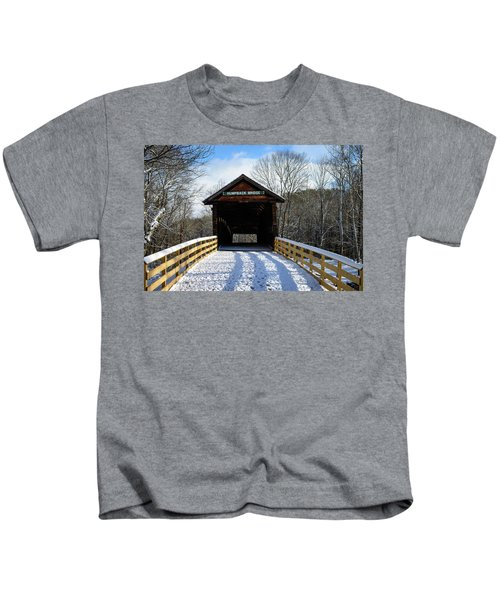 Over The River And Through The Bridge Kids T-Shirt
