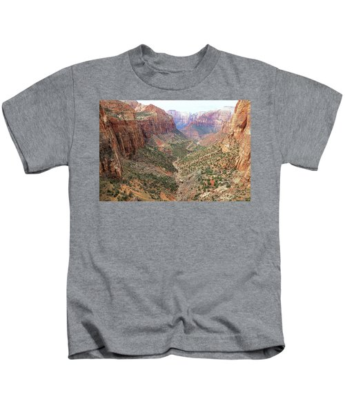 Overlook Canyon Kids T-Shirt