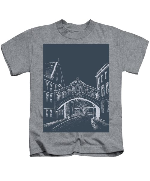Oxford At Night Kids T-Shirt