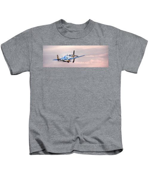 P-51 Mustang Taking Off Kids T-Shirt