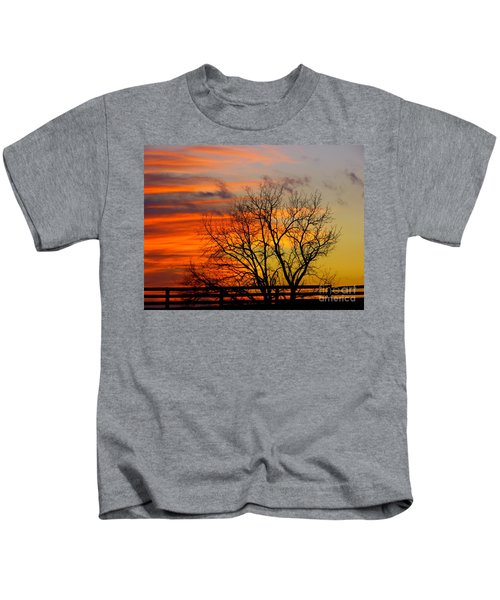 Painted By The Sun Kids T-Shirt