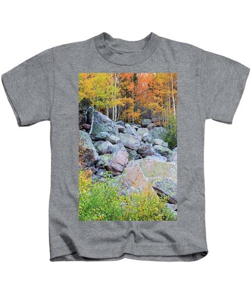 Painted Rocks Kids T-Shirt