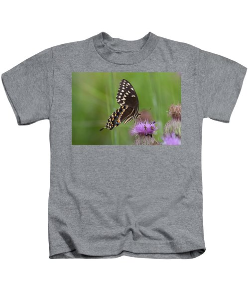 Palamedes Swallowtail And Friends Kids T-Shirt