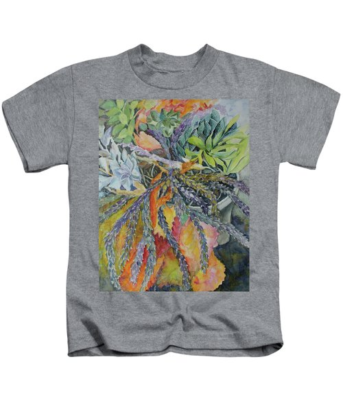 Palm Springs Cacti Garden Kids T-Shirt
