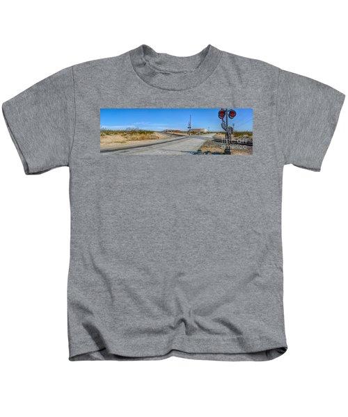 Panoramic Railway Signal Kids T-Shirt