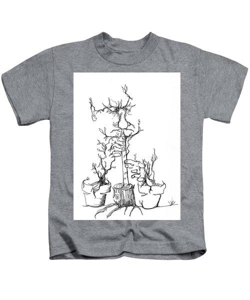 Pan's Fried Flute Kids T-Shirt