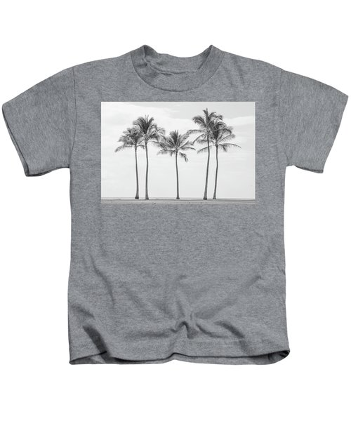 Paradise In Black And White II Kids T-Shirt