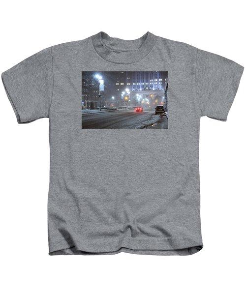 Park Avenue Manhattan New York Near The Helmsley Building Kids T-Shirt