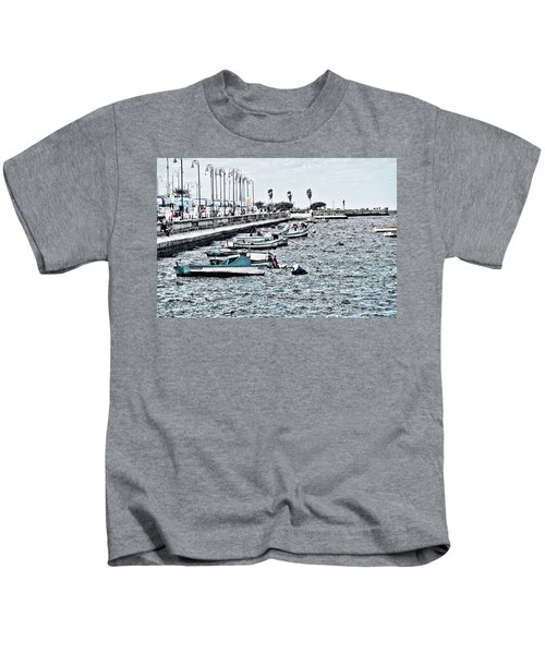 Parked And Waiting Kids T-Shirt
