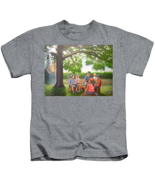 Pass It On - Baseball Kids T-Shirt