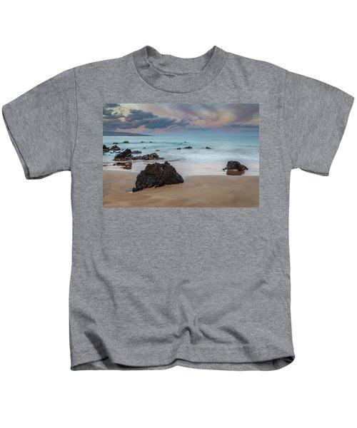 Pastel Hawaii Sunrise Kids T-Shirt