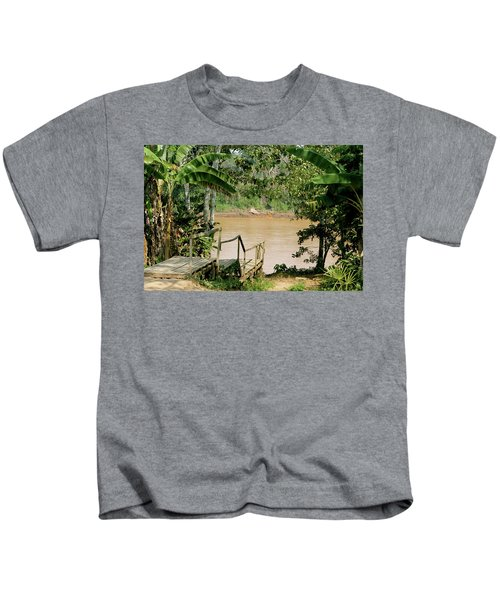 Path To The Amazon River Kids T-Shirt