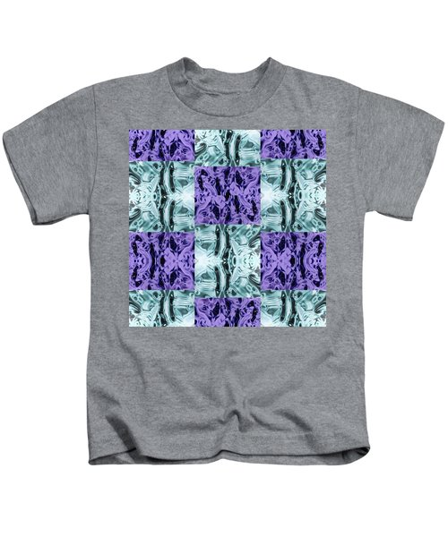 Ultra Violet  And Water  Kids T-Shirt