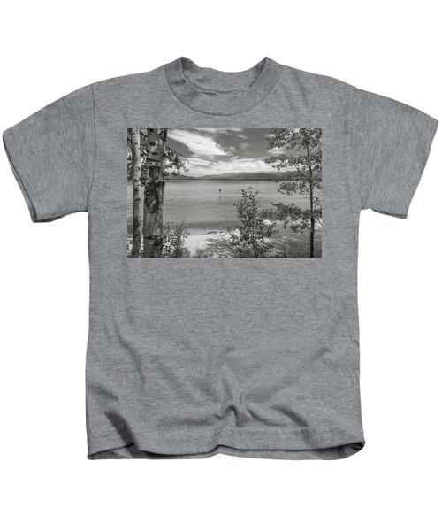 Payette Lake Boarder Kids T-Shirt