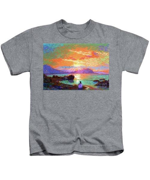 Peace Be Still Meditation Kids T-Shirt