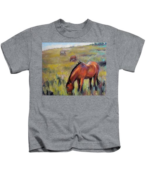 Peace On The Mountain Kids T-Shirt