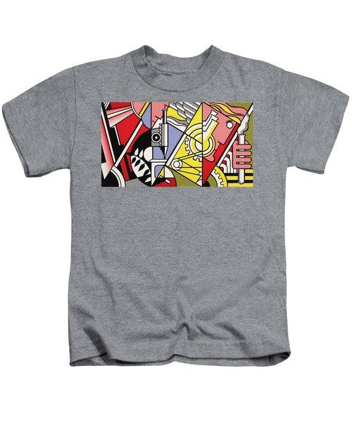 Peace Through Chemistry I - Roy Lichtenstein Kids T-Shirt