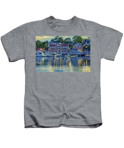 Peaceful Harbor Kids T-Shirt