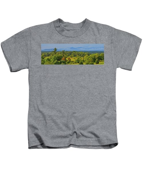 Peaks Of Otter After The Rain Kids T-Shirt