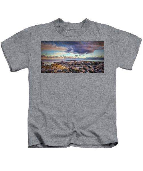 Pebbles And Sky  #h4 Kids T-Shirt