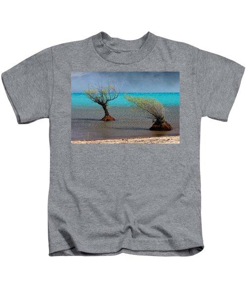 Peculiar Trees Kids T-Shirt