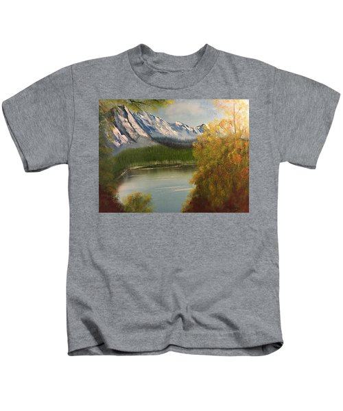 Peek-a-boo Mountain Kids T-Shirt