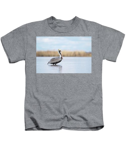 Pelican In Paradise Kids T-Shirt