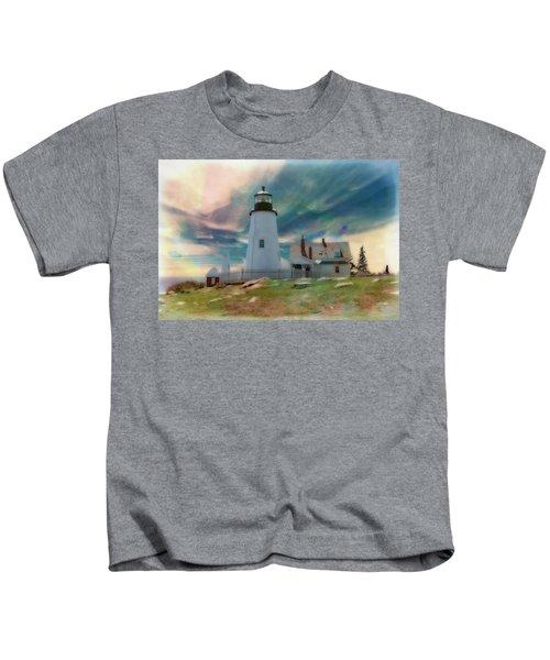 Pemaquid Lighthouse,maine Kids T-Shirt