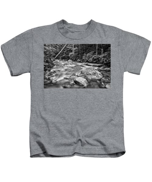 Pemi River Black-white Kids T-Shirt