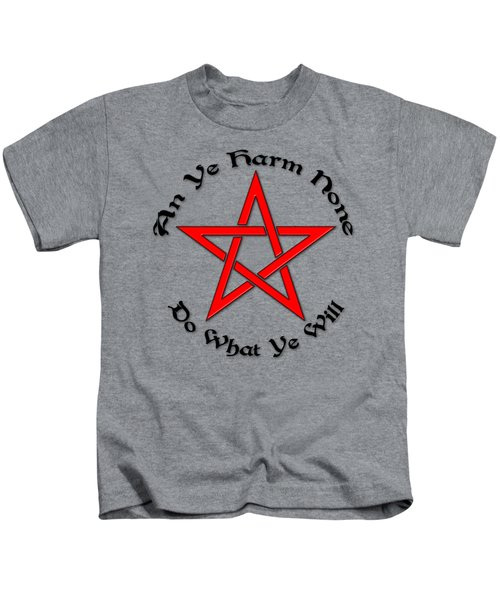 Pentagram Kids T-Shirt