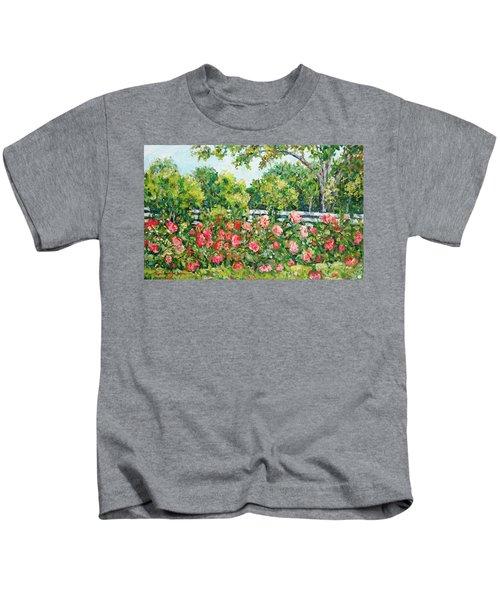 Peony Riot Kids T-Shirt
