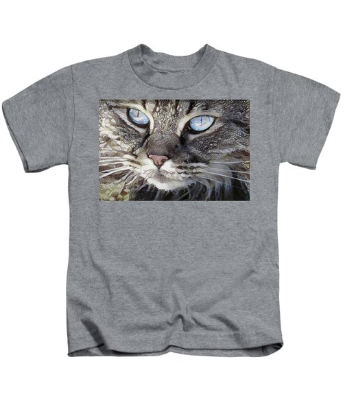 Perry The Persian Cat Kids T-Shirt