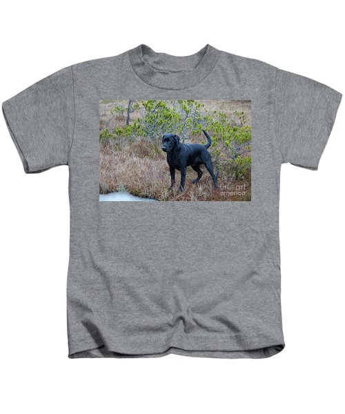 Pet Portrait - Radar Kids T-Shirt