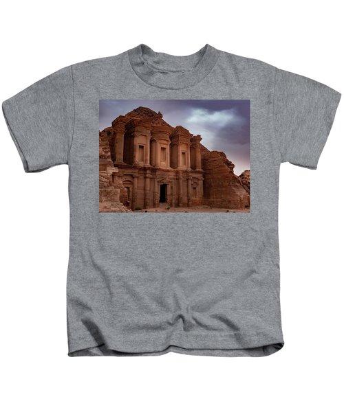 Petra's Monastery Kids T-Shirt