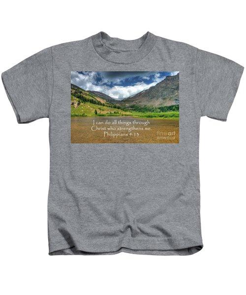Philippians 4/13 Kids T-Shirt