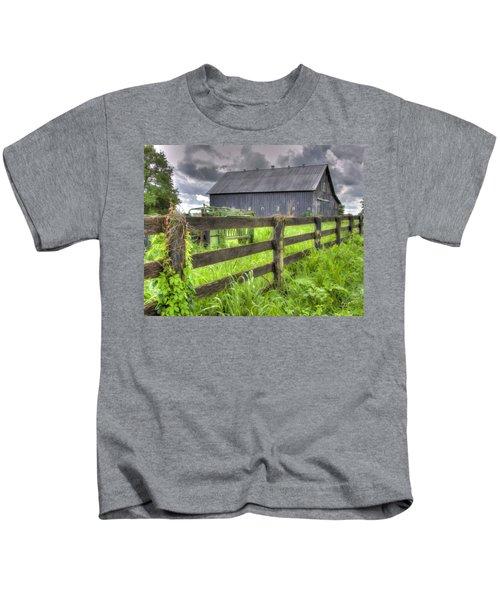 Phillip's Barn #4 Kids T-Shirt